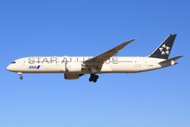 空飛ぶ丸さんさんが、成田国際空港で撮影した全日空 787-9の航空フォト(飛行機 写真・画像)