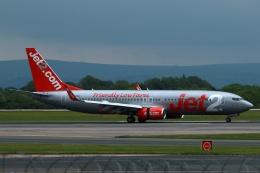 採れたてほしいもさんが、マンチェスター空港で撮影したジェット・ツー 737-86Nの航空フォト(飛行機 写真・画像)