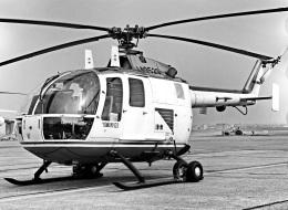 Y.Todaさんが、入間飛行場で撮影した読売新聞 Bo 105Cの航空フォト(飛行機 写真・画像)