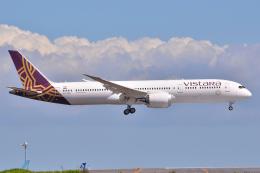 フリューゲルさんが、羽田空港で撮影したビスタラ 787-9の航空フォト(飛行機 写真・画像)
