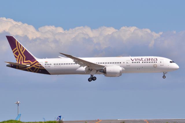 航空フォト:VT-TSD ビスタラ 787-9