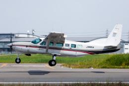 よっしぃさんが、八尾空港で撮影した朝日航空 208 Caravan Iの航空フォト(飛行機 写真・画像)