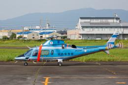 よっしぃさんが、八尾空港で撮影した広島県警察 A109E Powerの航空フォト(飛行機 写真・画像)