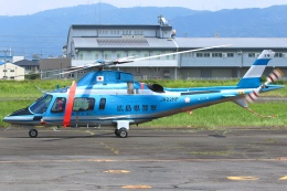 RJOY_Spotterさんが、八尾空港で撮影した広島県警察 A109E Powerの航空フォト(飛行機 写真・画像)