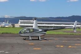 RJOY_Spotterさんが、八尾空港で撮影した小川航空 R44 Astroの航空フォト(飛行機 写真・画像)