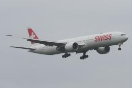 木人さんが、成田国際空港で撮影したスイスインターナショナルエアラインズ 777-3DE/ERの航空フォト(飛行機 写真・画像)