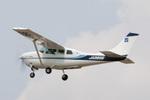 eagletさんが、調布飛行場で撮影したアジア航測 TU206G Turbo Stationair 6の航空フォト(写真)