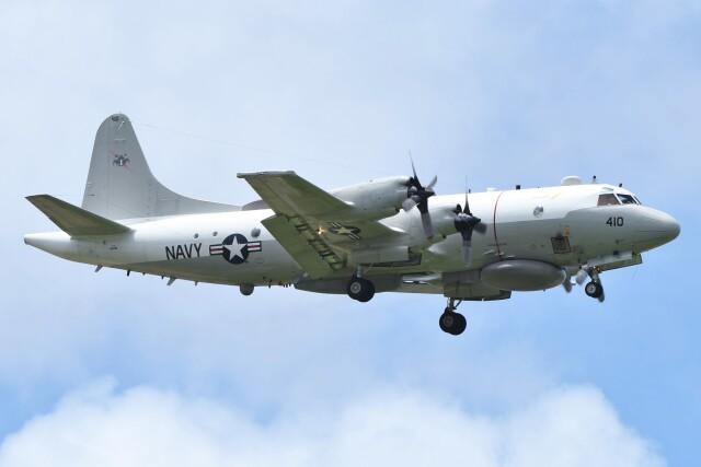 デルタおA330さんが、嘉手納飛行場で撮影したアメリカ海軍 EP-3E Orion (ARIES II)の航空フォト(飛行機 写真・画像)
