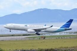 M.Tさんが、関西国際空港で撮影したガルーダ・インドネシア航空 A330-343Eの航空フォト(飛行機 写真・画像)