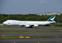 チャーリーマイクさんが、成田国際空港で撮影したキャセイパシフィック航空 747-867F/SCDの航空フォト(飛行機 写真・画像)