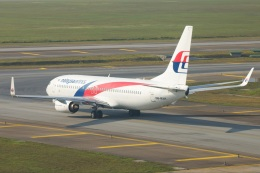 S.Hayashiさんが、クアラルンプール国際空港で撮影したマレーシア航空 737-8H6の航空フォト(飛行機 写真・画像)