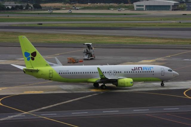 S.Hayashiさんが、金浦国際空港で撮影したジンエアー 737-8B5の航空フォト(飛行機 写真・画像)