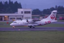 神宮寺ももさんが、鹿児島空港で撮影した日本エアコミューター ATR 42-600の航空フォト(飛行機 写真・画像)