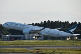 PIRORINGさんが、成田国際空港で撮影したキャセイパシフィック航空 A350-941の航空フォト(飛行機 写真・画像)