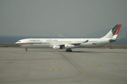 磐城さんが、香港国際空港で撮影したガルフ・エア A340-312の航空フォト(飛行機 写真・画像)