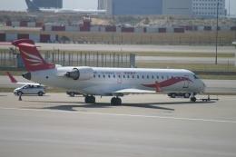 磐城さんが、香港国際空港で撮影したCRエアウェイズ CL-600-2C10(CRJ-701ER)の航空フォト(飛行機 写真・画像)