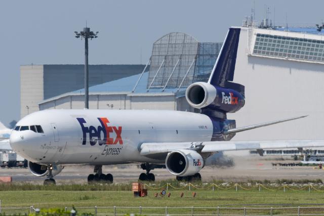 panchiさんが、成田国際空港で撮影したフェデックス・エクスプレス MD-11Fの航空フォト(飛行機 写真・画像)