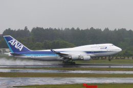 senyoさんが、成田国際空港で撮影した全日空 747-481の航空フォト(飛行機 写真・画像)