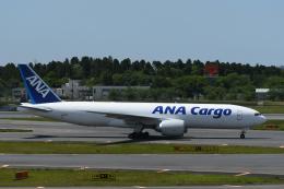 チャーリーマイクさんが、成田国際空港で撮影した全日空 777-F81の航空フォト(飛行機 写真・画像)