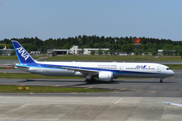チャーリーマイクさんが、成田国際空港で撮影した全日空 787-10の航空フォト(飛行機 写真・画像)