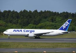 チャーリーマイクさんが、成田国際空港で撮影した全日空 767-381/ER(BCF)の航空フォト(飛行機 写真・画像)