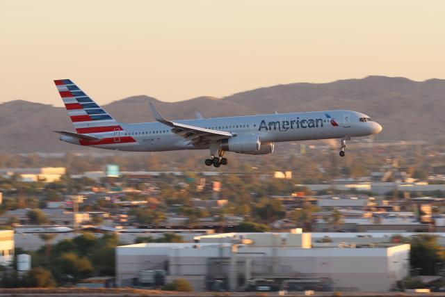 2019年10月22日に撮影されたアメリカン航空の航空機写真