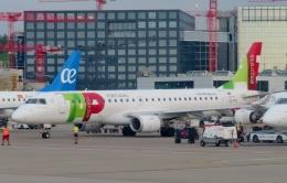 TA27さんが、チューリッヒ空港で撮影したポルトガリア航空 ERJ-190-100 LR (ERJ-190LR)の航空フォト(飛行機 写真・画像)