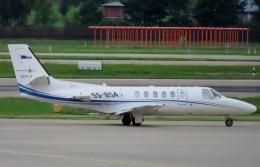 TA27さんが、チューリッヒ空港で撮影したSky X Airways 550B Citation Bravoの航空フォト(飛行機 写真・画像)
