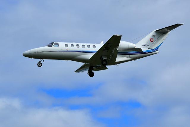 くれないさんが、高松空港で撮影したアルペン 525A Citation CJ2の航空フォト(飛行機 写真・画像)