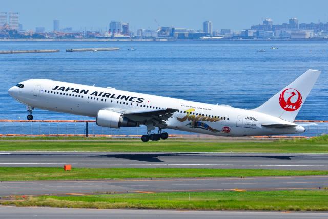 フリューゲルさんが、羽田空港で撮影した日本航空 767-346/ERの航空フォト(飛行機 写真・画像)