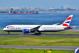 フリューゲルさんが、羽田空港で撮影したブリティッシュ・エアウェイズ 787-9の航空フォト(飛行機 写真・画像)
