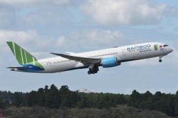 sky77さんが、成田国際空港で撮影したバンブー・エアウェイズ 787-9の航空フォト(飛行機 写真・画像)