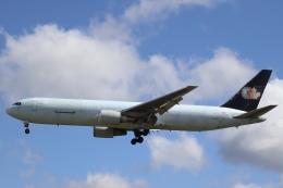不揃いさんが、成田国際空港で撮影したカーゴジェット・エアウェイズ 767-375/ERの航空フォト(飛行機 写真・画像)