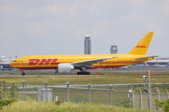 OS52さんが、成田国際空港で撮影したDHL 777-FZNの航空フォト(飛行機 写真・画像)