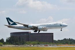 ポン太さんが、成田国際空港で撮影したキャセイパシフィック航空 747-867F/SCDの航空フォト(飛行機 写真・画像)