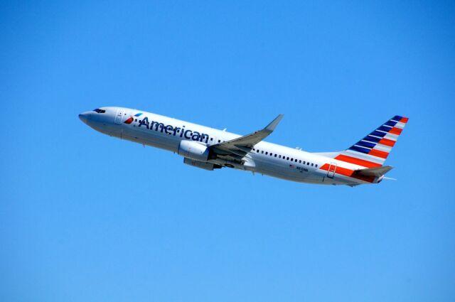 まいけるさんが、ロサンゼルス国際空港で撮影したアメリカン航空 737-823の航空フォト(飛行機 写真・画像)