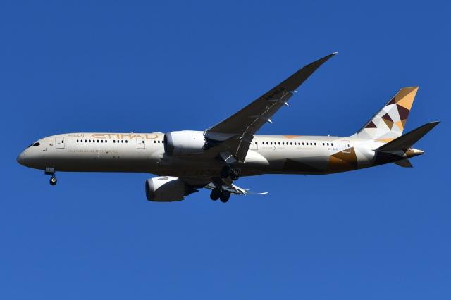 Deepさんが、成田国際空港で撮影したエティハド航空 787-9の航空フォト(飛行機 写真・画像)