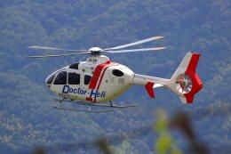 khideさんが、八尾空港で撮影したユーロヘリ EC135P2+の航空フォト(飛行機 写真・画像)