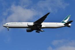 Deepさんが、成田国際空港で撮影したキャセイパシフィック航空 777-31Hの航空フォト(飛行機 写真・画像)