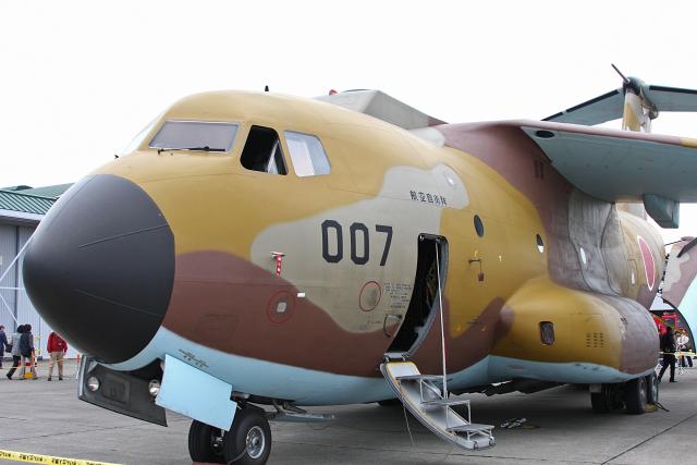 スカルショットさんが、入間飛行場で撮影した航空自衛隊 C-1の航空フォト(飛行機 写真・画像)