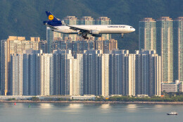 Kaaazさんが、香港国際空港で撮影したルフトハンザ・カーゴ MD-11Fの航空フォト(飛行機 写真・画像)