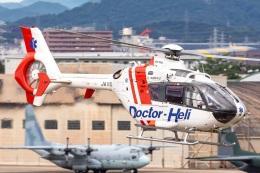 T spotterさんが、名古屋飛行場で撮影した中日本航空 EC135P2の航空フォト(飛行機 写真・画像)