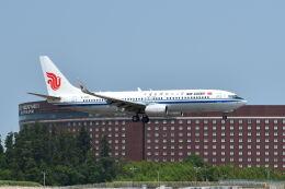 ポン太さんが、成田国際空港で撮影した中国国際航空 737-89Lの航空フォト(飛行機 写真・画像)