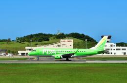 ナナオさんが、石見空港で撮影したフジドリームエアラインズ ERJ-170-200 (ERJ-175STD)の航空フォト(飛行機 写真・画像)