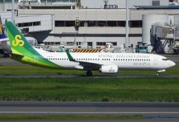 チャレンジャーさんが、羽田空港で撮影した春秋航空日本 737-8ALの航空フォト(飛行機 写真・画像)