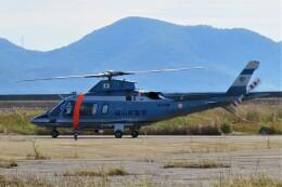 F.YUKIHIDEさんが、岡南飛行場で撮影した岡山県警察 A109E Powerの航空フォト(飛行機 写真・画像)
