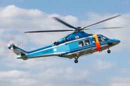 A.Tさんが、八尾空港で撮影した大阪府警察 AW139の航空フォト(飛行機 写真・画像)