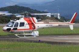 korosukeさんが、南紀白浜空港で撮影した朝日航洋 AS350B3 Ecureuilの航空フォト(飛行機 写真・画像)