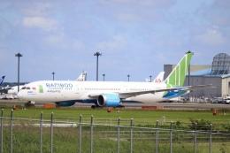 不揃いさんが、成田国際空港で撮影したバンブー・エアウェイズ 787-9の航空フォト(飛行機 写真・画像)