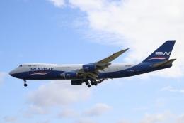 不揃いさんが、成田国際空港で撮影したシルクウェイ・ウェスト・エアラインズ 747-83QFの航空フォト(飛行機 写真・画像)